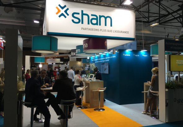 Sham au Salon International Santé et Innovation de la Fédération Hospitalière de France with Paris Healthcare Week
